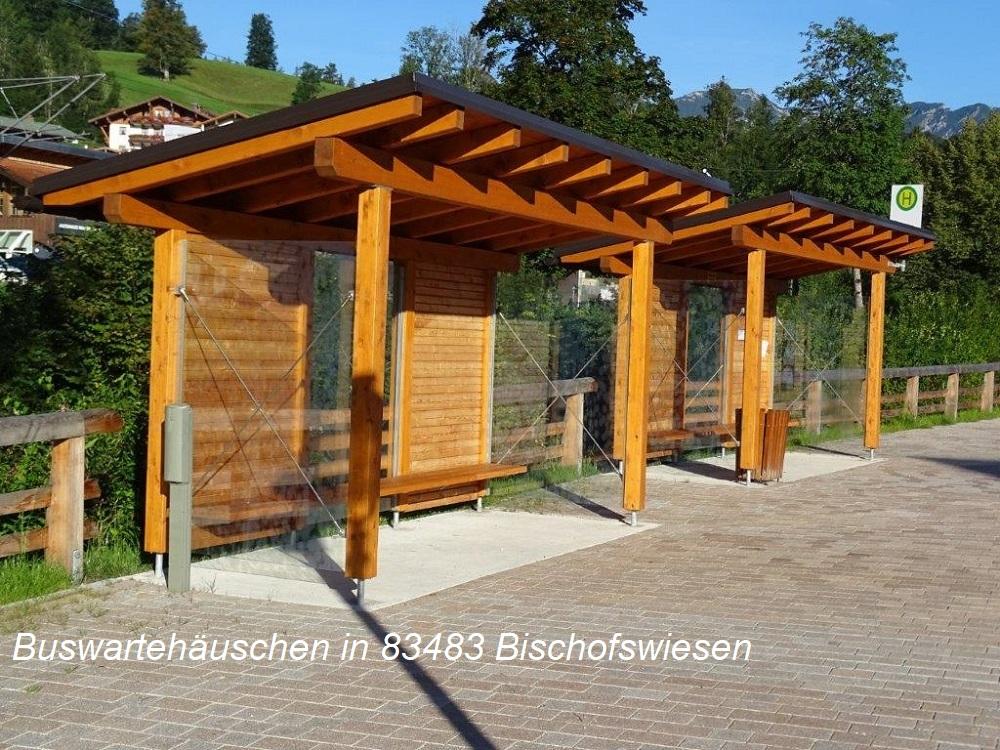 Vogelschutz am Buswartehäuschen in 83483 Bischofswiesen