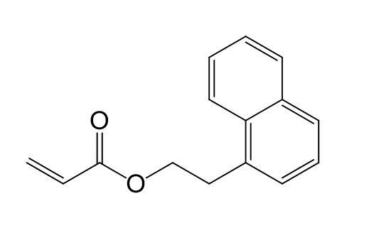 2-(Naphth -1-yl) ethylacrylat ( NEA) M8029, CAS 76020-58-1