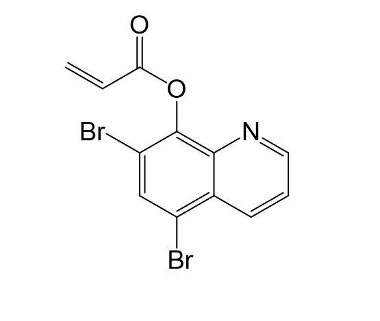 5.7-Dibromochinolin-8-ylacrylat, CAS 34463-00-8, M8045