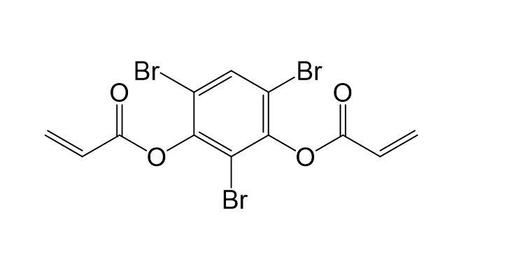 2.4.6-Tribrom-1.3-phenylendiacrylat, CAS 217825-77-9, M8046