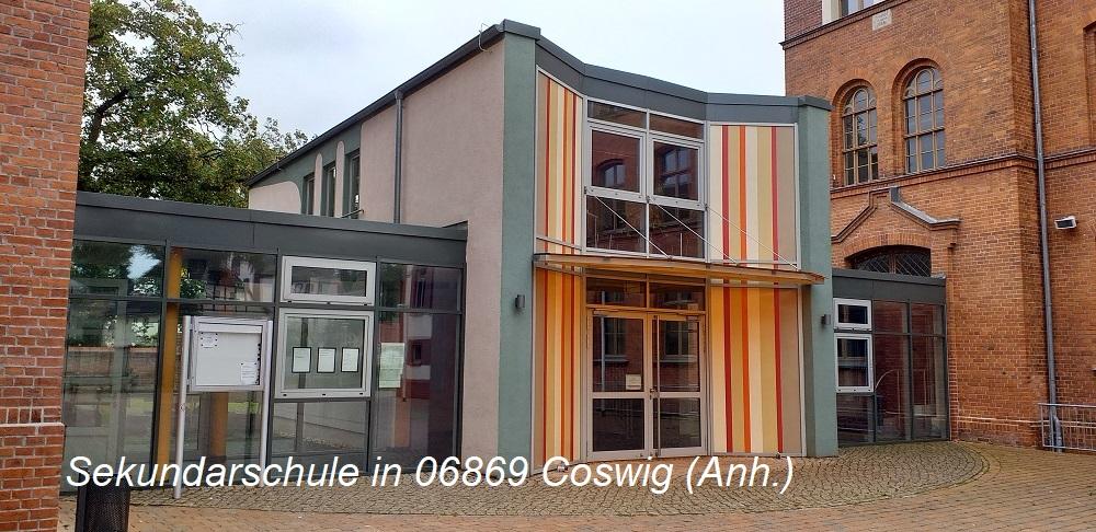 Vogelschutz -Sekundarschule in 06869 Coswig (Anh.)